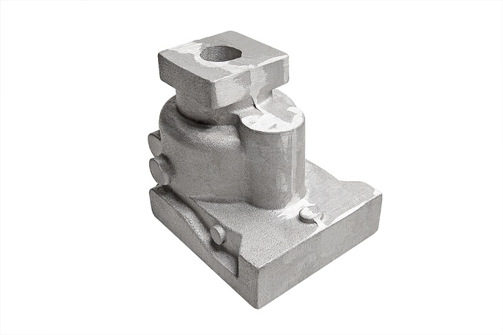 Casting aluminum parts to order according to customer drawings