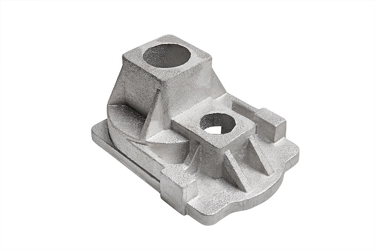 Aluminum casting at the factory