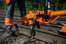Rail stressor, rail tensor KZDM-70