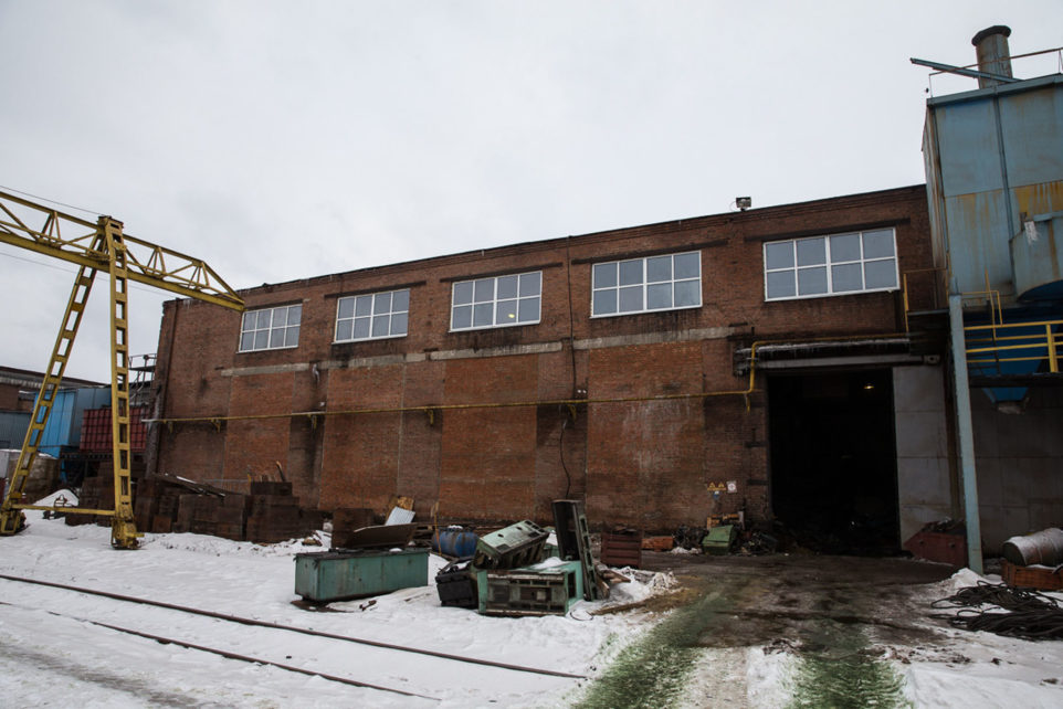 The first stage of reconstruction Stockyard foundry