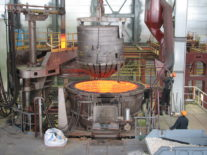 Signed an agreement for the supply of furnace capacity of 6 tons
