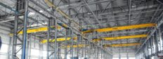 The contract for the supply of single-girder overhead crane Demag