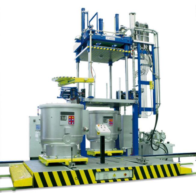 New low-pressure casting machine AL 13-13 by Kurtz