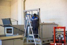 New steel ladles from Acetarc