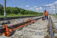 Rail stressor rail tensor KZDM-70