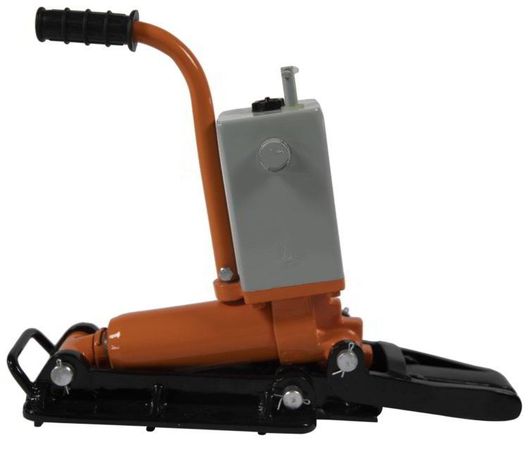 hydraulic track flattener
