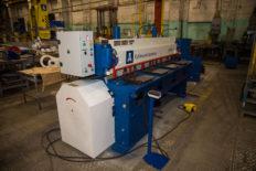 JSC Kubanzheldormash designs and manufactures electromechanical scissors of guillotine type NGM-6,3