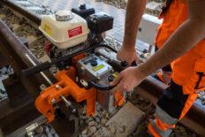 rail drilling