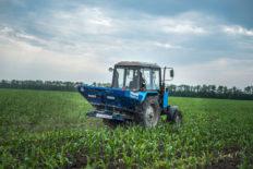 Fertilizer spreaders mounted «Twerk»