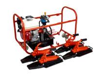 Hydraulic rail flattener RGU-4M