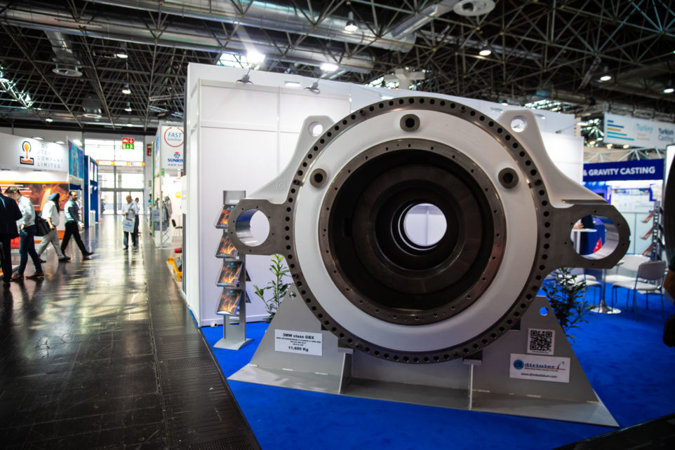 The exhibition of foundry equipment