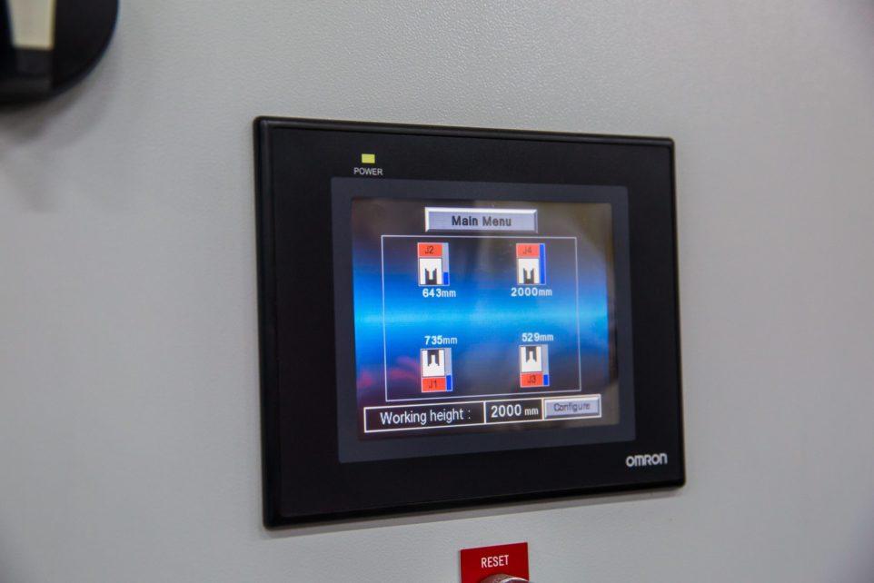 The new synchronization system of jack units