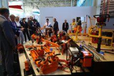 exhibition of modern railway tools