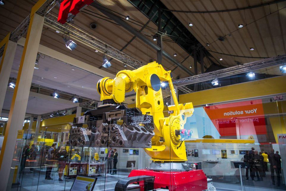 metalworking exhibition in Hanover
