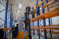 installation of racks