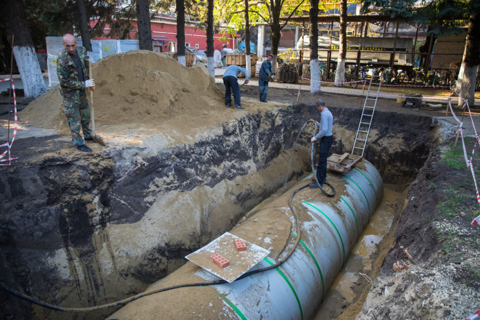storm sewerage system