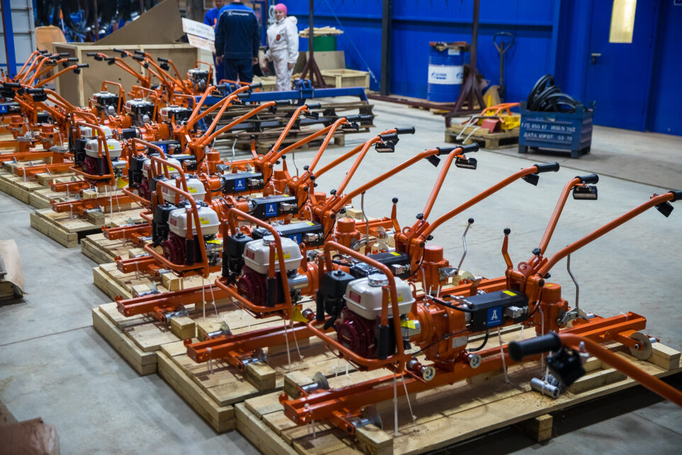 production of track wrenches