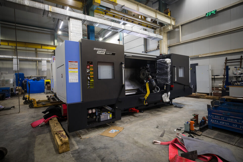 Delivery of the new Mazak Quick Turn 350MY