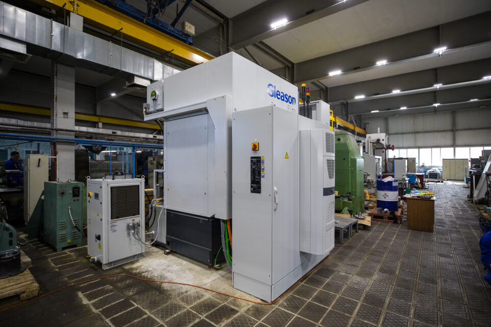 Modernization of the machine park
