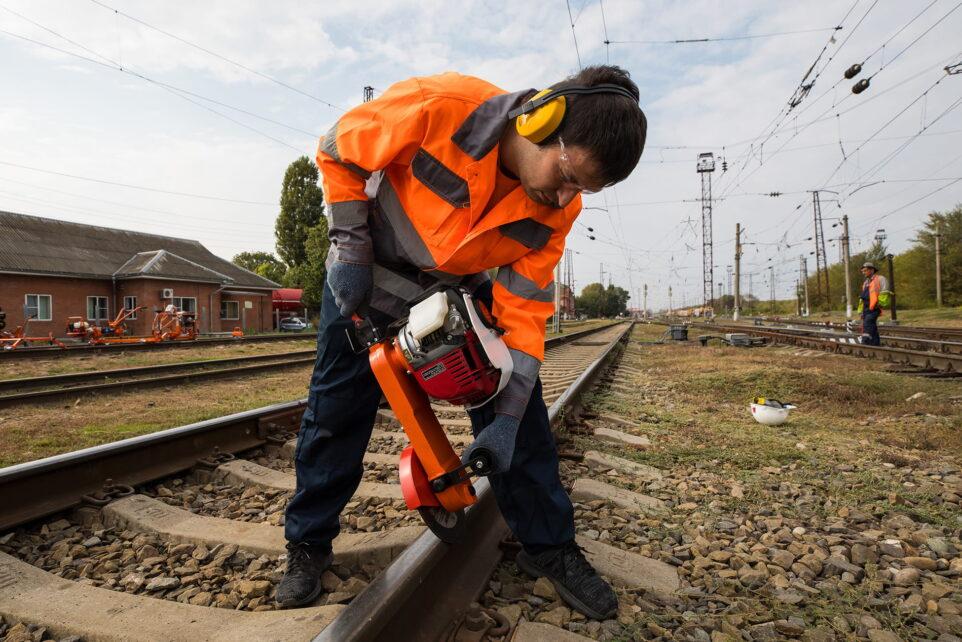Rail grinding machine MARSH