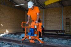 Rail head grinding machine MRS-1